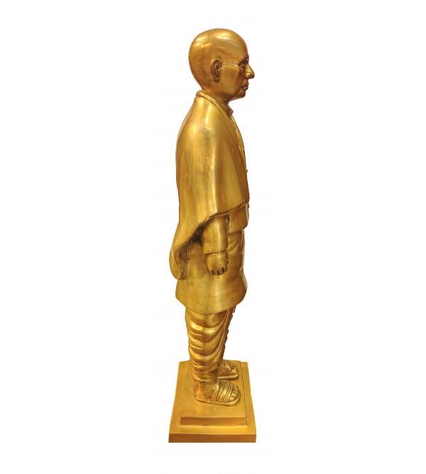 Brass Sardar Patel Standig 8 Inch