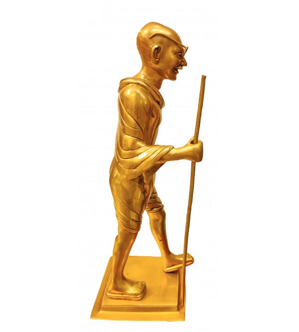 Brass Gandhi Standing 14 Inch