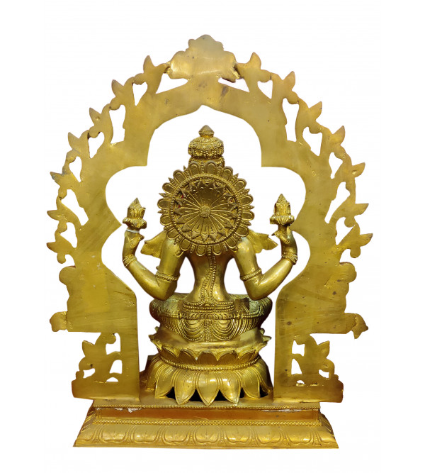 Brass Laxmi Prabhawali 15.5 Inch