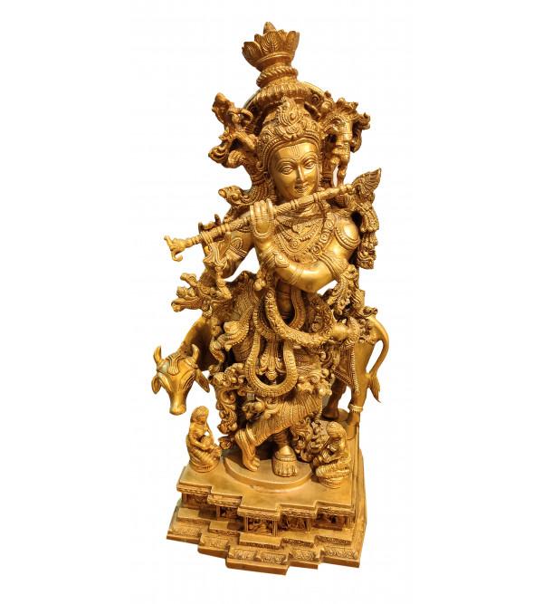 Brass Krishna 27 Inch