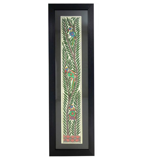 HANDICRAFT ASSORTED MADHUBANI PAINTING 4X22 INCH LONG WITH FRAME