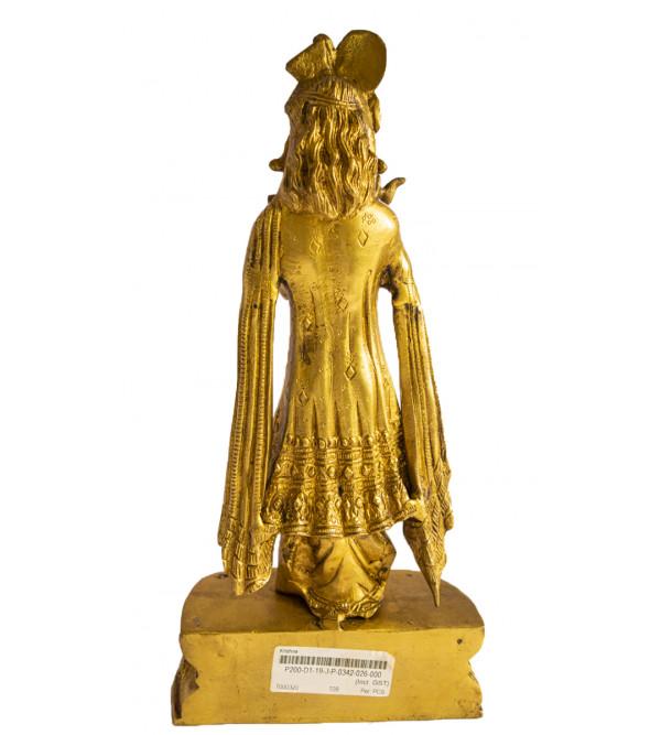 CCIC Handicraft Brass Krishna  13X6 Inch