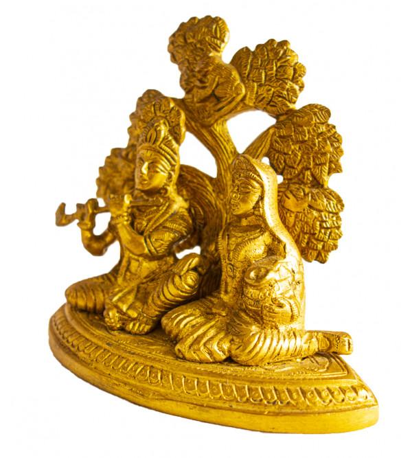 CCIC Handicraft Radha Krishna 5.5X6 Inch