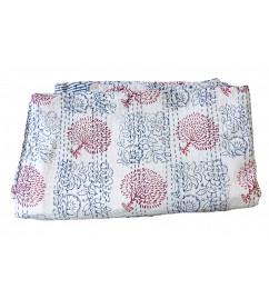 Cotton Bed Cover Khantha Gudari 90X108 Inch