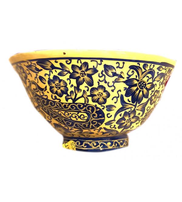 Papier Mache Handcrafted Bowl