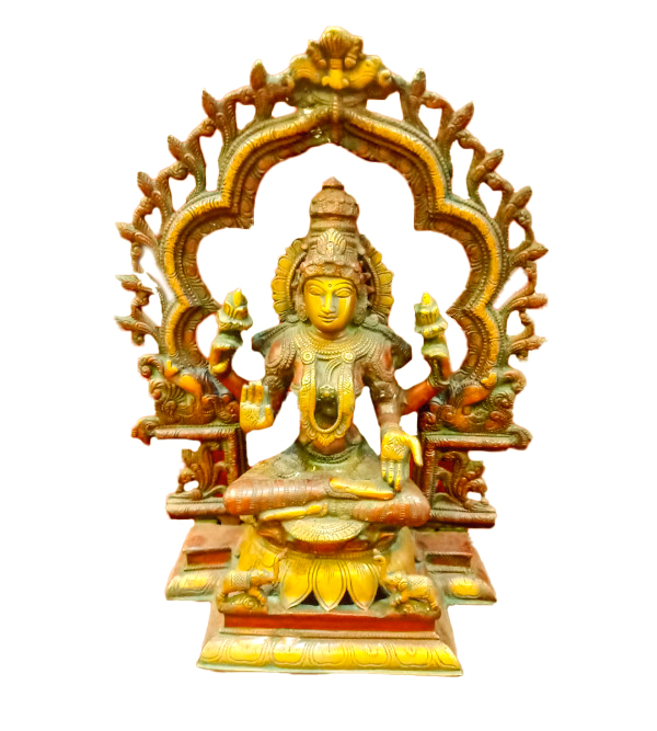 Brass Handcrafted  Laxmi Sitting 15 Inch