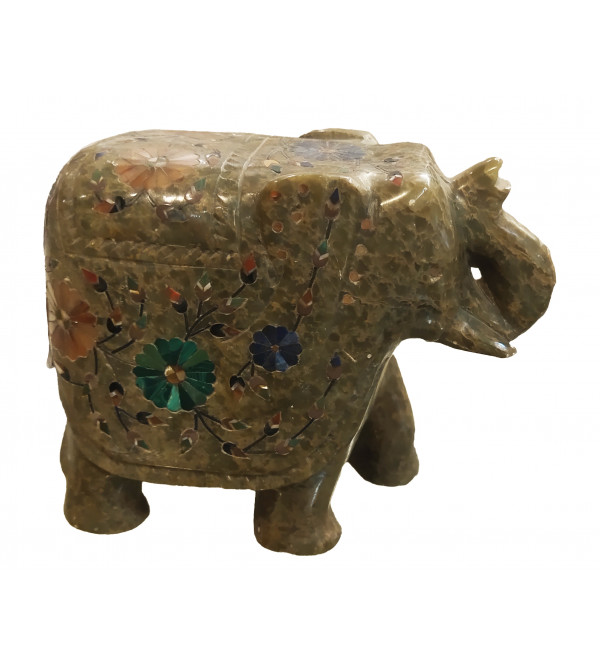 ELEPHANT MARBLE SOAP STON