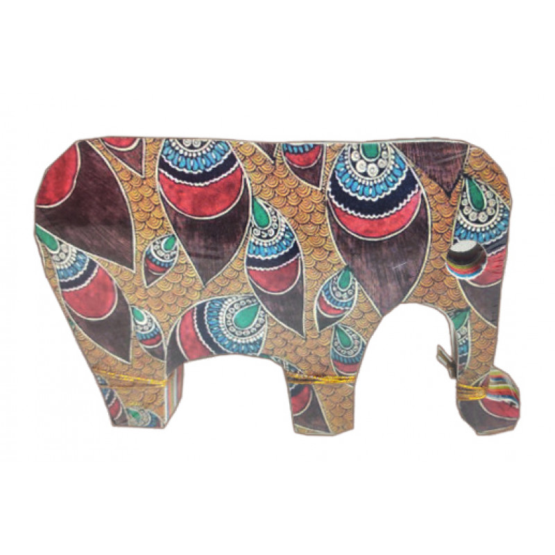 Handcrafted Note Book Elephant Shape