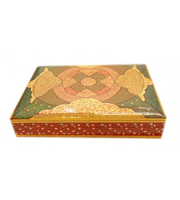 Hand crafted Papier Mache Flat Box