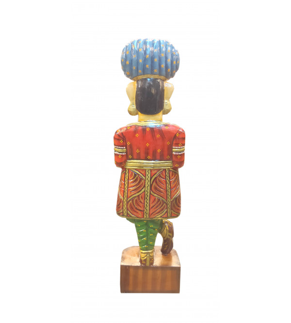 DARBAN WOODEN PTD  24  INCH MANGO WOOD ASSORTED DESIGNS