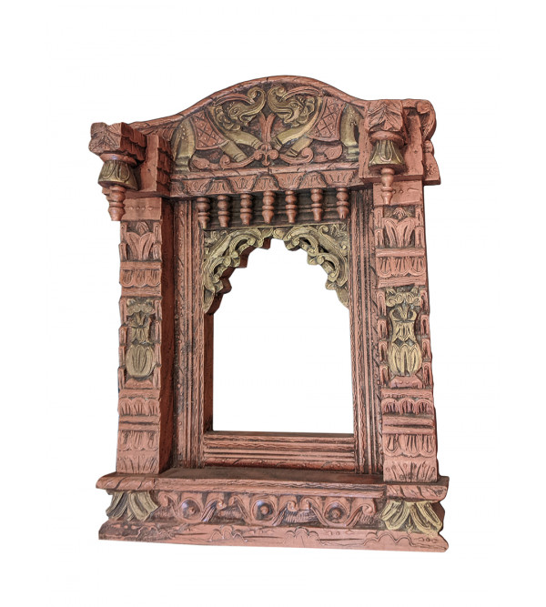 CCIC Handicraft Wooden Jharoka with Antique Look