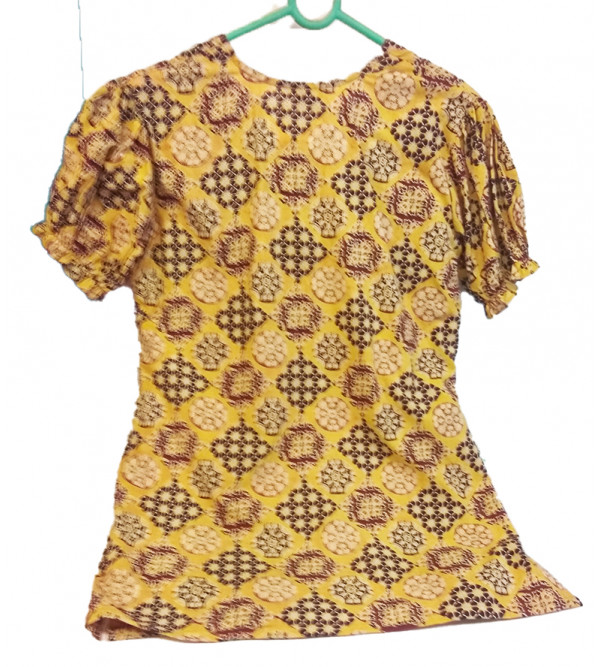 Cotton Printed Girls Top Size 10 to 12 Year