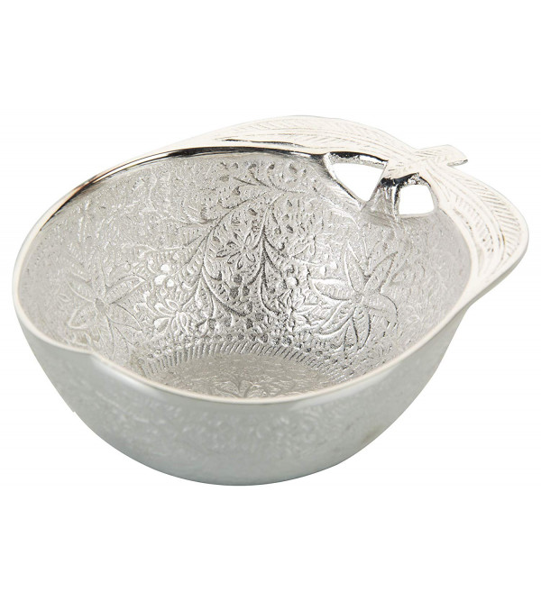 PUDDING BRASS SILVER PLATED