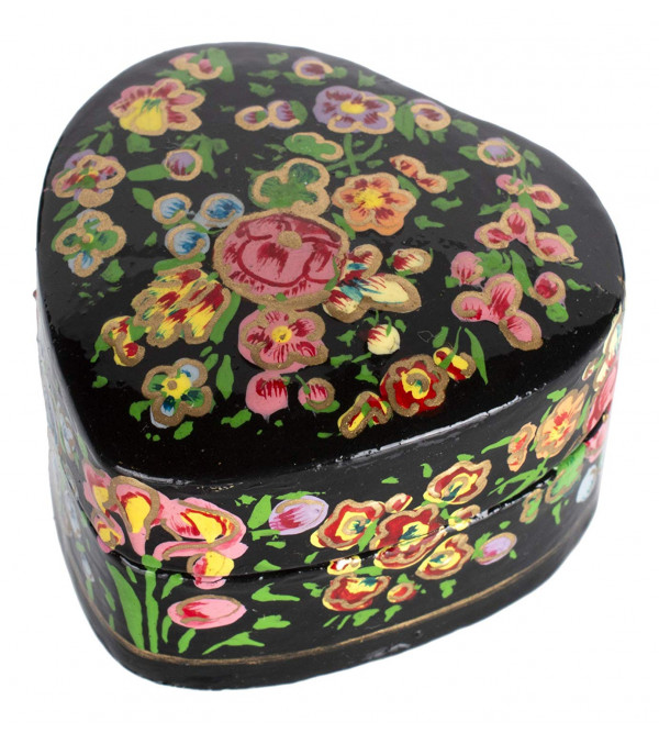 Ring Box Round Shape Paper Machie