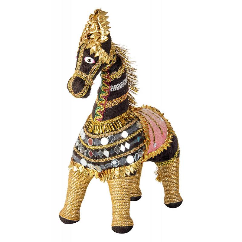 Soft stuffed horse