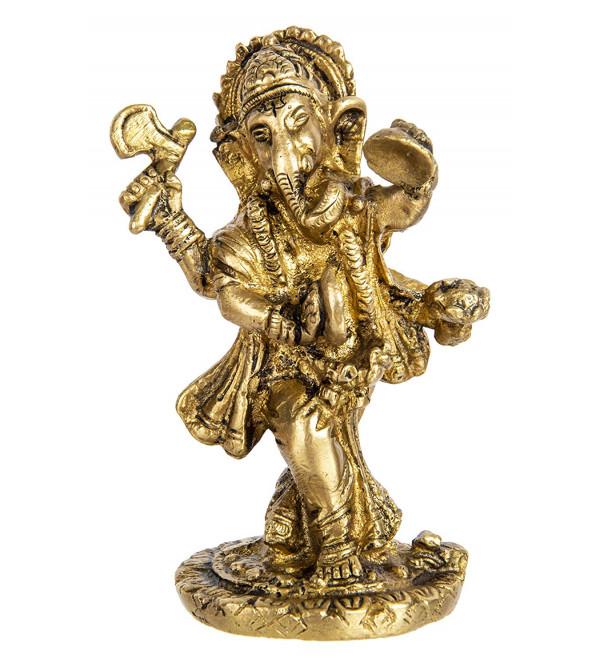 Ganesh ji brass