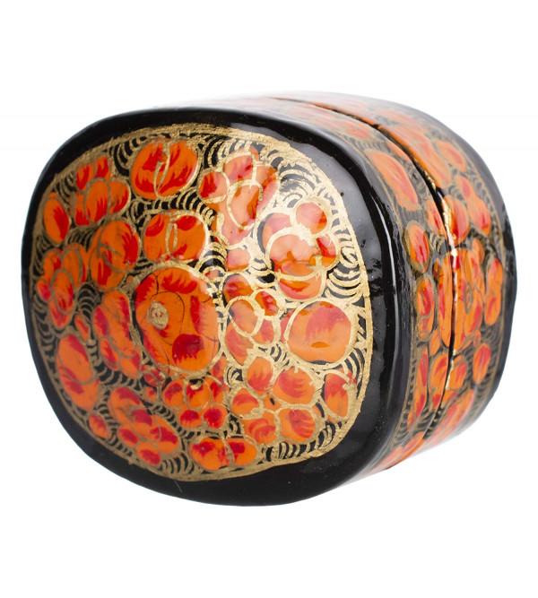 Ring Box Round Shape Paper Machie