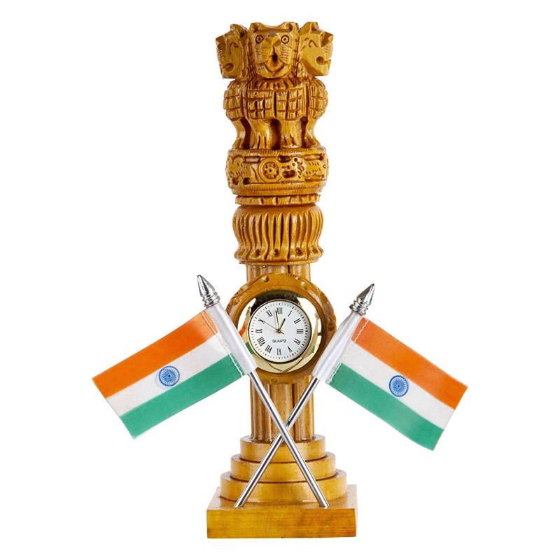 Ashoka Pillar with watch