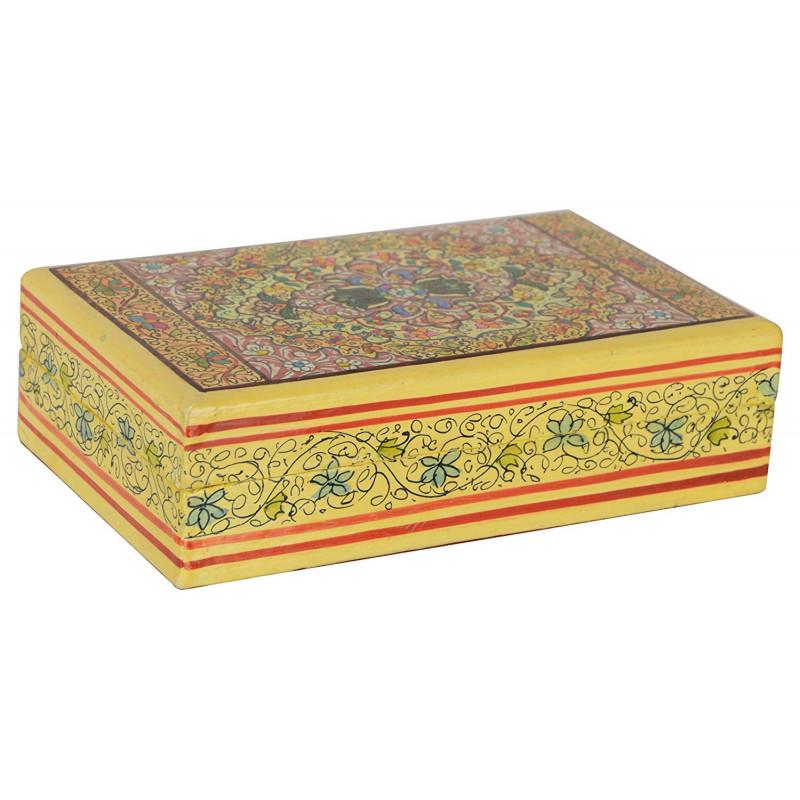 1 PAPER MACHIE  MULTI UTILITY BOX 3X5