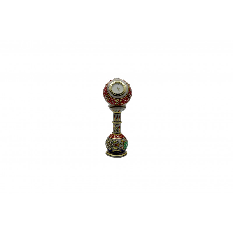 6X2 Inch PILLAR WATCH WITH REAL GOLD WORK