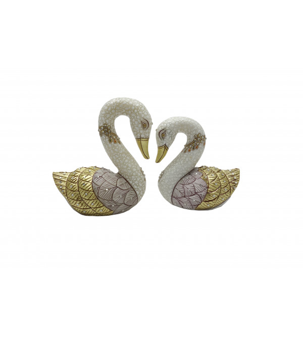 DUCK 2 PCS SET 6 Inch  6 Inch Real Gold work