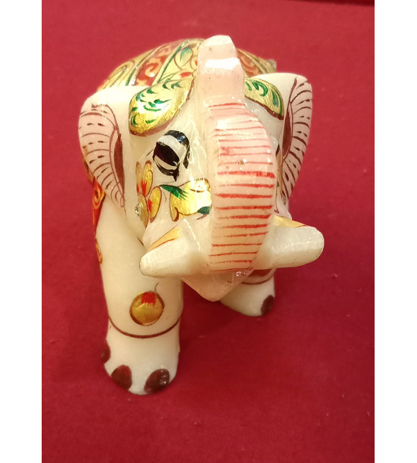 Elephant real gold work 3 inch