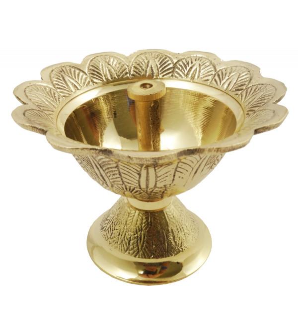 Handicraft Brass Devdas Diya 4 Inch