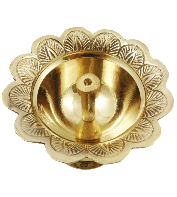 Handicraft Brass Devdas Diya 4 Inch
