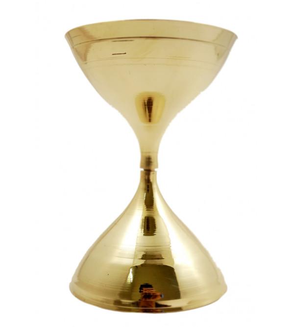 Handicraft Brass Nanadeep Diya 4.5 Inch