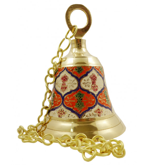 Handicraft Brass Hanging Bell 5.5 Inch