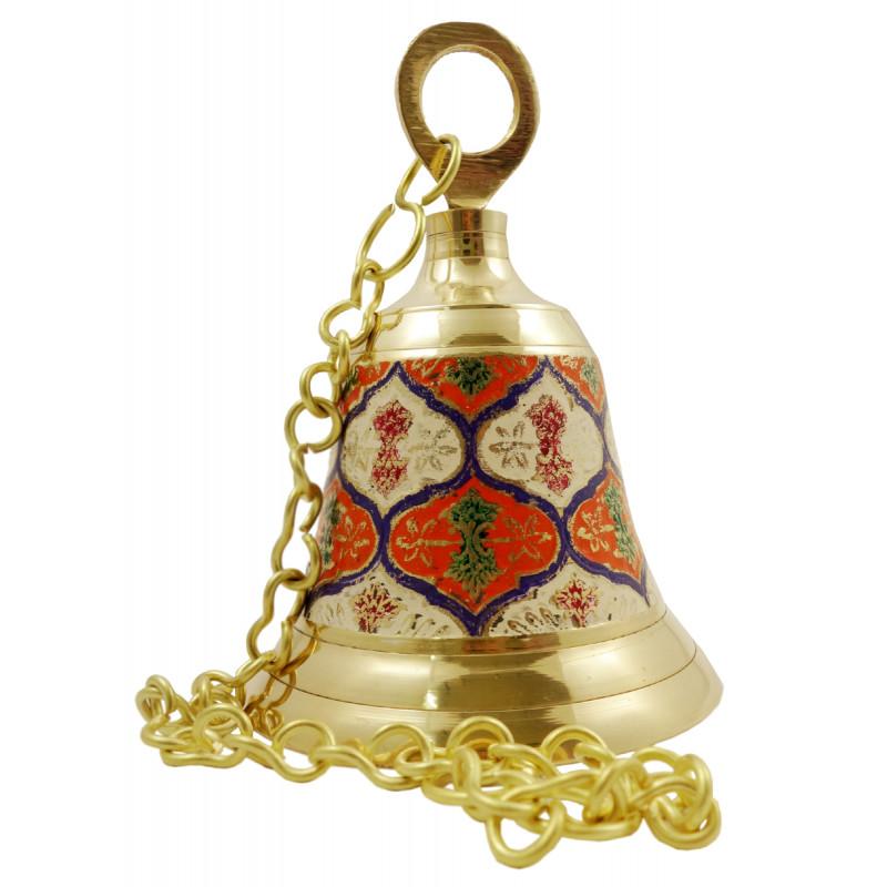 Handicraft Brass Hanging Bell 5.5 Inch