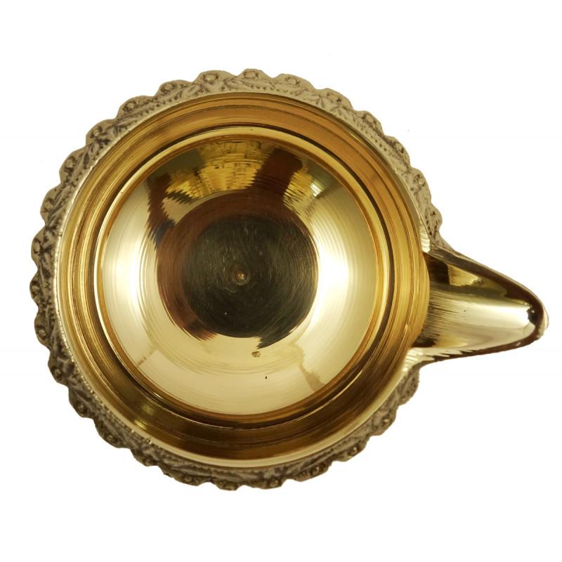 Handicraft Brass Kuber Diya 4 Inch