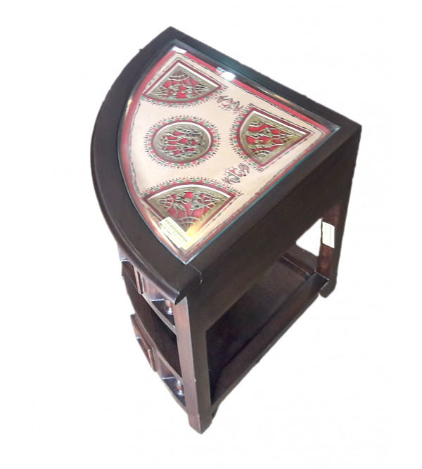 Dhokra Handcrafted Corner Table