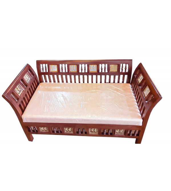 OPEN L SHAPED DOUBLE SEATER COUCH
