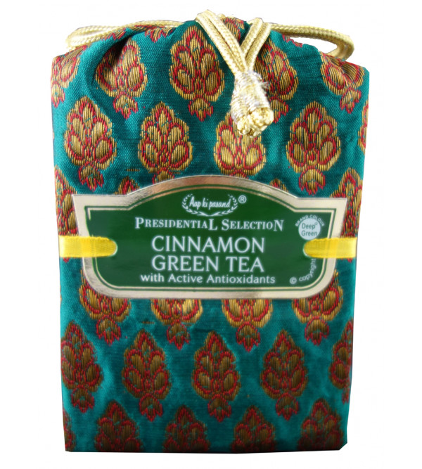 Green tea Cinnamom 100gm