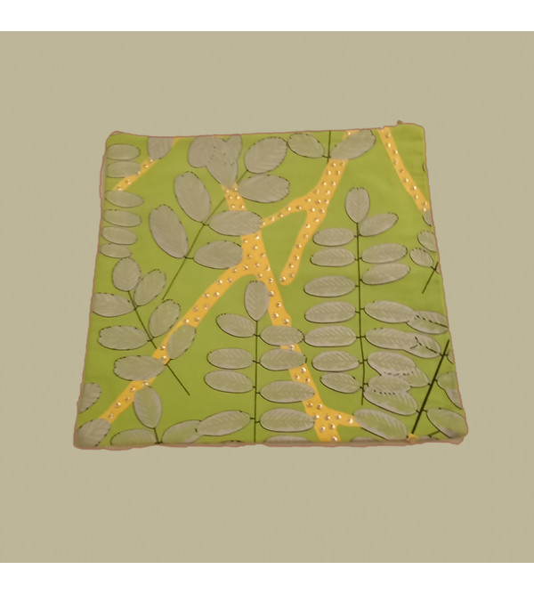 Cotton Printed  Cushion Cover Size 16x16 Inch