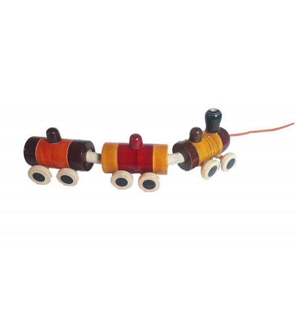 Handcrafted Wooden  Channapatna TRain Size10.Inch