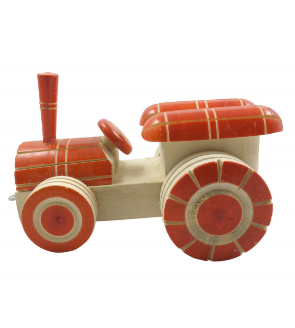 Wooden Hand Crafted Lacquerware Tractor Size 4x2 Inch