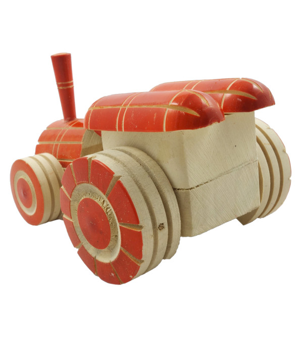WODDEN TOYS TRACTOR