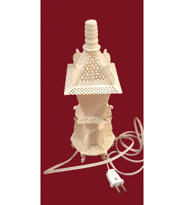 Camel Bone Handcrafted Table Lamp Size 12 Inches