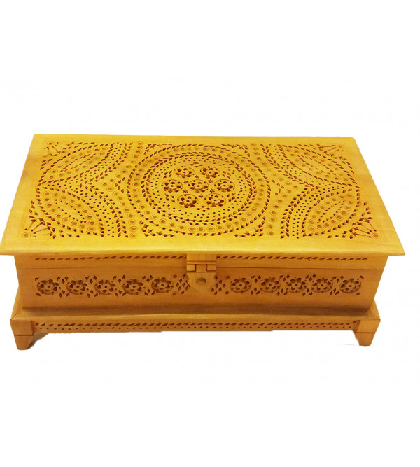 BOX JALI WORK KADAM WOOD 10x5 inch