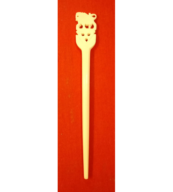 Camel Bone Handcrafted Hair Stick