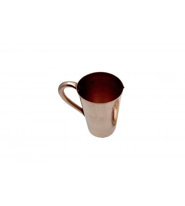3X8 INCH COPPER JUG Weight 285gm