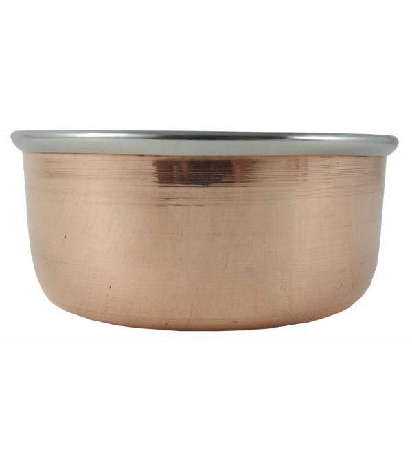 Handicraft Katori  Copper Steel wt 110gm