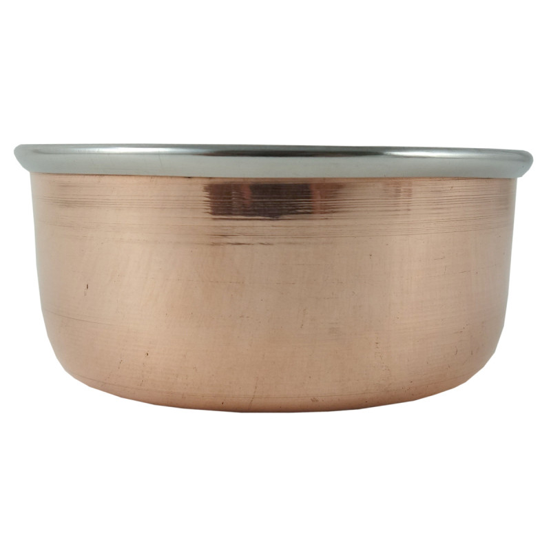 Handicraft Katori  Copper Steel wt 140gm