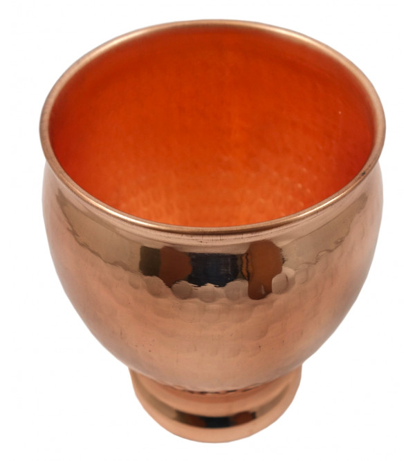 HANDICRAFT COPPER KHULLAR 4.5  INCH