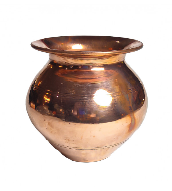 Handcrafted Brass Copper Lota 4 Inch 4