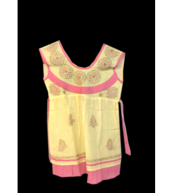 Cotton Handwoven Frock Size 1-2 Year