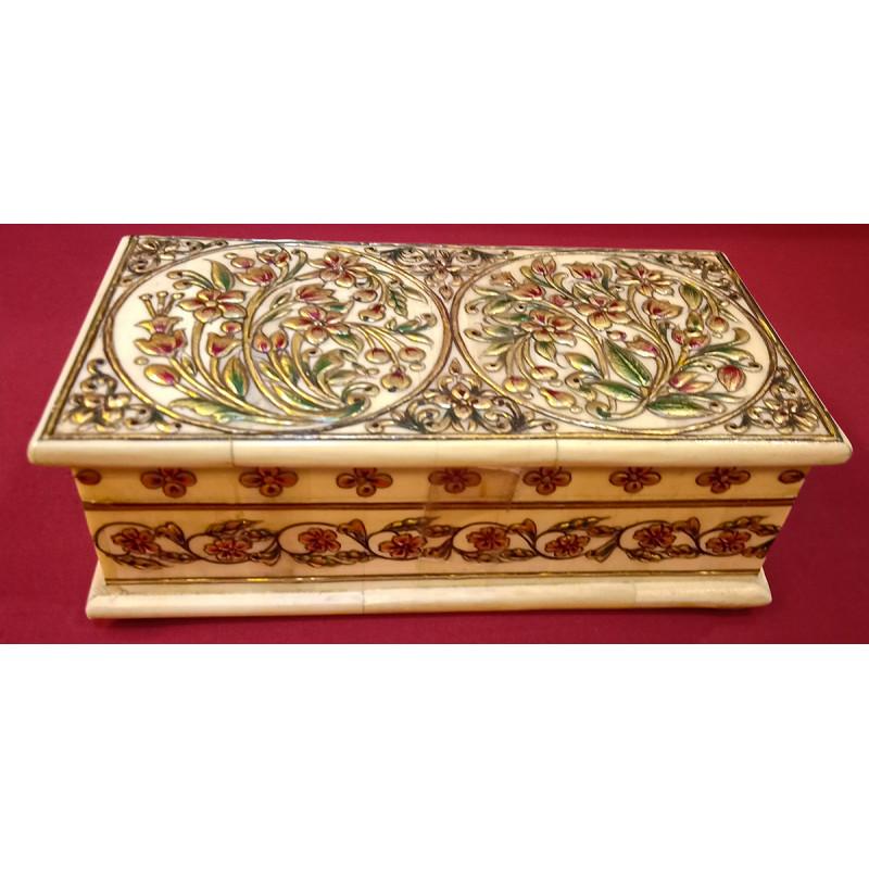 Camel Bone Handcrafted Box