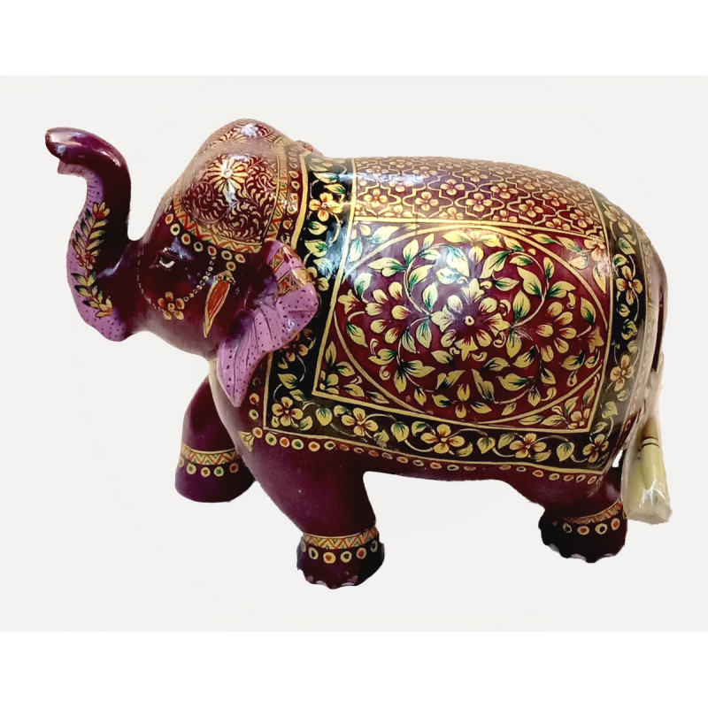 Wooden Handcrafted Elephant Size 5 Inches